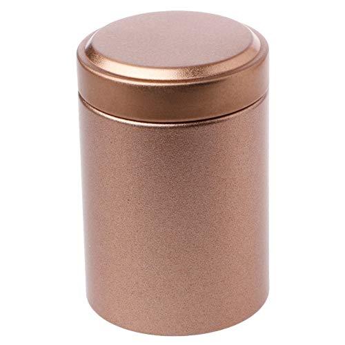 ESTone Mini caja de té portable hojalata de viaje al aire libre jarrón sellado latas regalos 4,5 x 6,5 cm