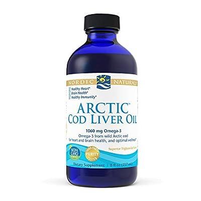 Nordic Naturals Arctic Cod Liver Oil, Unflavoured