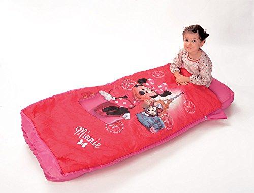 Fun House 712821 Aufblasbares Bett mit Daunen und Pumpe, Rosa