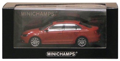 1/43 Minichamps VW Jetta 2010 tornadorot 400059001