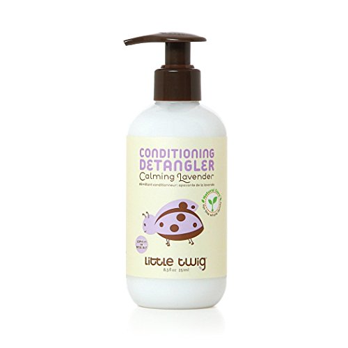Little Twig All Natural, Hypoallergenic Conditioning Detangler with an Organic Blend of...