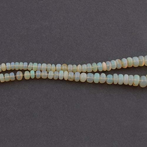 GemAbyss Don't miss the campaign Beads Gemstone 1 Houston Mall Strand Ethiopian Opal Natural R Smooth