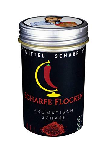 Scharfe Flocken - Die Schärfe für deinen Döner / Mittel Scharf (Dönergewürz / Chili / Pul Biber)