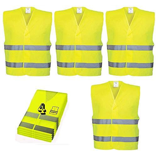 MMTX Chaleco reflectante de seguridad de alta visibilidad, Chaleco de alta visibilidad con tira plateada, hombres y mujeres, topógrafo, voluntario, guardia de cruce, carretera, construcción, neón