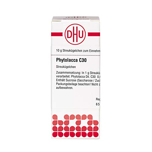 DHU Phytolacca C30 Globuli, 10 g Globuli