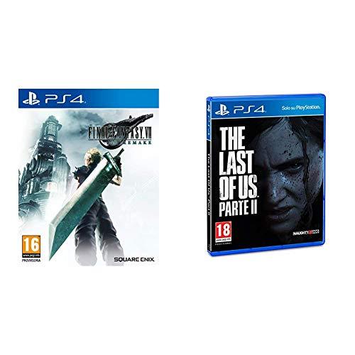 Final Fantasy VII Remake - Standard - PlayStation 4 & The Last of Us 2 Playstation 4