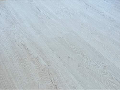 Schnell | Design Vinylboden Basic Holzoptik Dielenformat Klicksystem Stärke 4,0mm Nutzschicht 0,3mm NKL 23/31 Wasserresistent | 1 Paket = 2,81m² | Eiche Crema