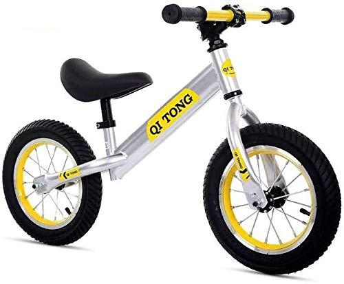 Bicicleta para Niños Niño freestyle moto Formación del niño Balance Balance la bici sin pedal con Bell y ligero bicicleta de equilibrio, Niños entrenamiento de la bicicleta con la altura del asiento y