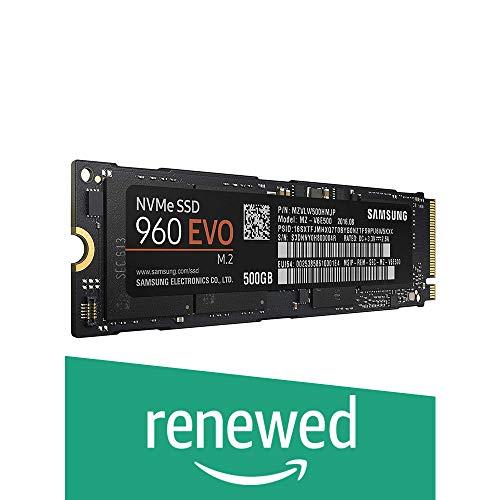 Samsung 960 EVO Series - 250GB PCIe NVMe - M.2 Internal SSD (MZ-V6E250BW) (Renewed)