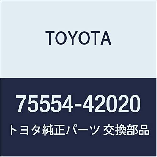 Inventory cleanup selling sale Genuine Toyota 2021 spring and summer new 75554-42020 Molding Roof