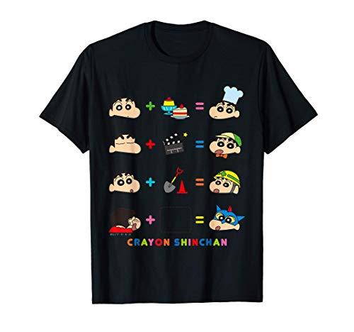 Crayon Shin-chan 〇+〇=? Shin-chan Ver. T-Shirt