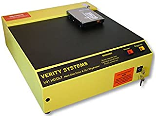 V91 DLT/LTO Tape Degausser, High energy bulk eraser | Verity Systems Degausser
