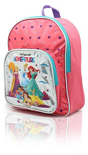 Disney Princess Backpack for Girls Belle Cinderella Ariel Jasmine Rapunzel...