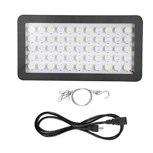 Zerodis 85-265V 165W LED Grow Light Full Spectrum Lamp for Water Plants Aquarium Indoor