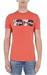 Pepe Jeans Camiseta de Manga Corta Dion para Hombre