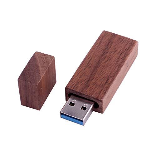 Preisvergleich Produktbild Chakil 4G 2.0 USB-Stick USB-Speicher Lang aus Holz Auto-Memory-Stick Datenspeicherung USB-Speicherlaufwerk U Festplatte Kreatives Geschenk Die Schule beginnen Schulmaterial