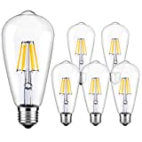 LED Edison Bulb Dimmable Vintage Style Light Bulbs...