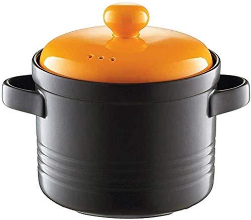 Cacerola cerámica cocina gas domésticas contra incendios