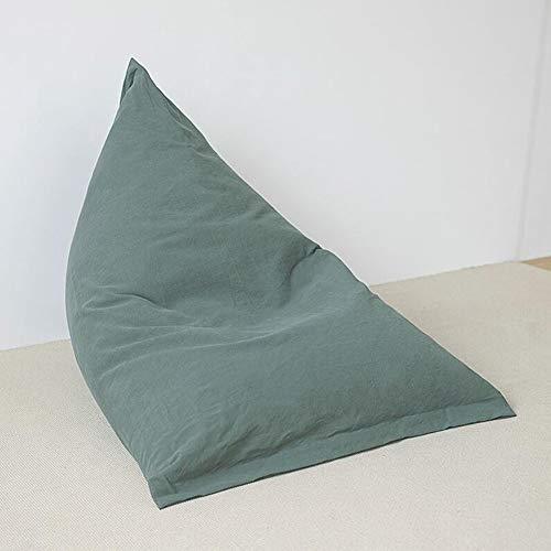 Zitzak, vloerkussen, linnenstof, bonen zakken, stoel, sofazitting, opvouwbaar, vloerstoelen CJC