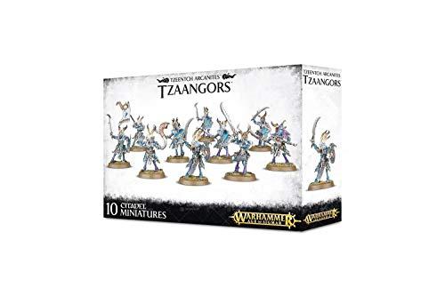 Games Workshop Warhammer Age of Sigmar Tzeentch Arcanites Tzaangors (10 Miniatures)