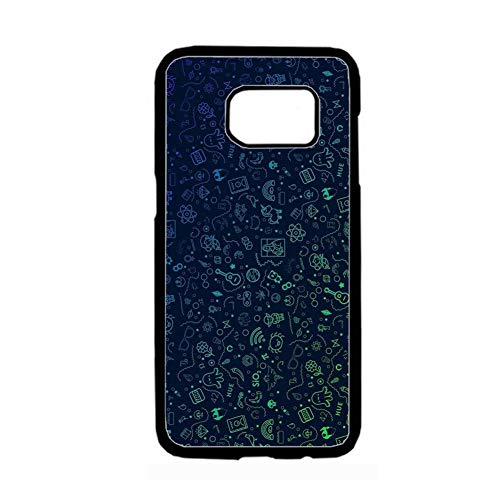 jinanyuhengtongjing Imprimir con Chemistry Art Popular para Hombre Teléfono Carcasa Rígida Rígida De Plástico Compatible Samsung Galaxy S 7 Choose Design 70-1