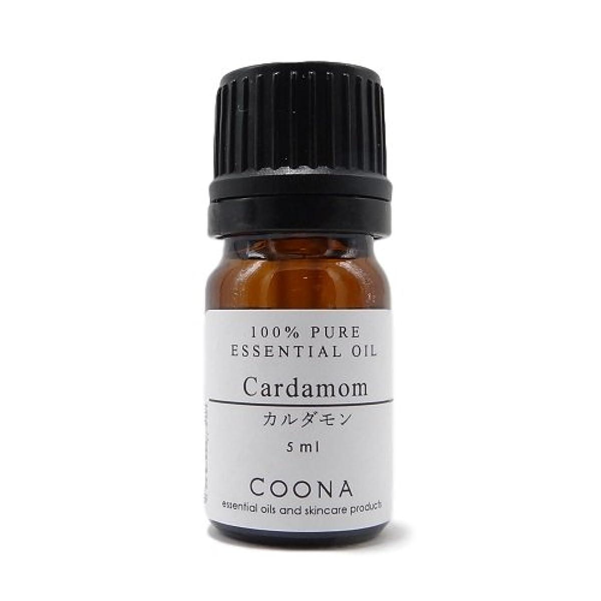 千可能対応カルダモン 5 ml (COONA エッセンシャルオイル アロマオイル 100%天然植物精油)