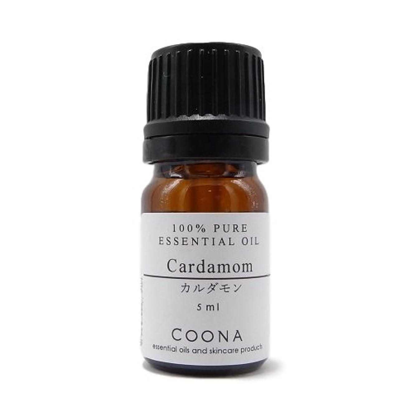 反論者正確ホーンカルダモン 5 ml (COONA エッセンシャルオイル アロマオイル 100%天然植物精油)