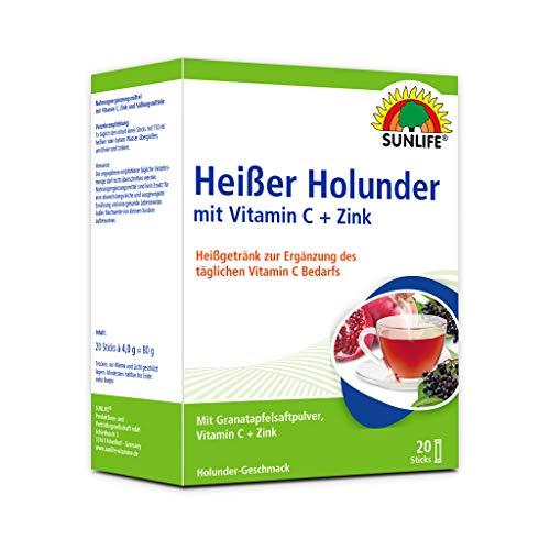 SUNLIFE Heißer Holunder + Granatapfel Sticks, 80 g
