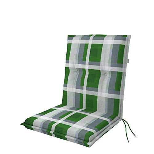doppler Niederlehner Living - Polsterauflage - Mit Rückenhalteband und Bindebänder - Für Gartenstühle und besten Sitzkomfort