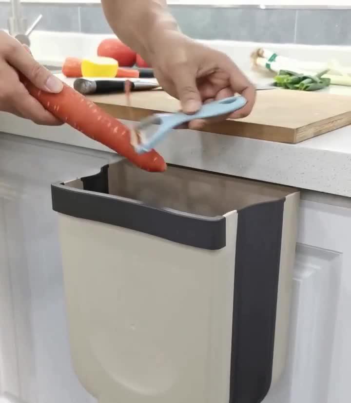 41yTdqrPpfL TTMOW Mülleimer Küche Faltbare, Neue Generation 9L Abfalleimer Küche Für Schranktür