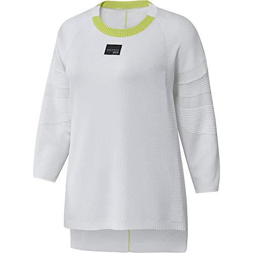 adidas EQT Sweatshirt Sudadera, Mujer, Blanco, 32