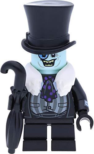 LEGO Super Heroes Batman - Figura de pingüino con cuello de piel blanca y paraguas