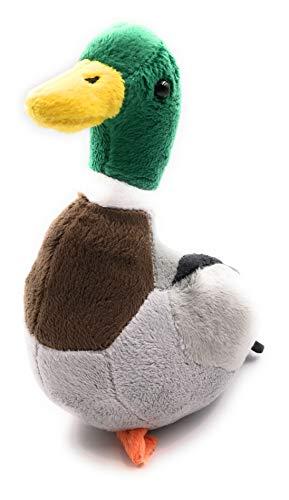 Onwomania Juguete de Peluche Tela de Peluche Animal Pato Salvaje pájaro Sentado Ganso 21 cm