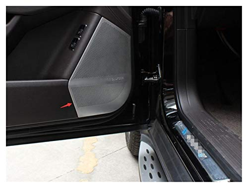 furong Ajuste para Mercedes Benz ML W166 GLE Coupe C292 GL X166 GLS Altavoces de la Puerta del Auto del automóvil Cubierta de la Puerta del automóvil Audio Audio Estéreo Protección Etiqueta engomada