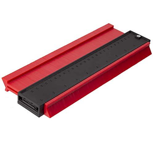 Meafeng Konturenlehre Profillehre 25cm Profil Messwerkzeug Konturmesser Kontur Duplikator Markierwerkzeuge für Unregelmäßiges Profil, Fliesen, Laminat und Holz usw