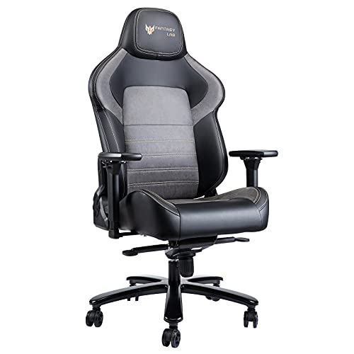 Kasorix Big and Tall Gaming Chair,Gamer Chair with 4D armrests,Office Chair Rocking Function and 160°Recline Degree,Ergonomic High Back Computer Chair