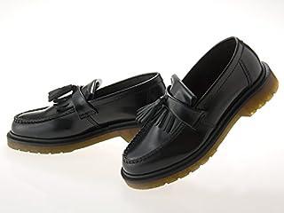 [ドクターマーチン] ADRIAN TASSEL LOAFER エイドリアン タッセル ローファー BLACK POLISHED SMOOTH ブラック 黒 ポリッシュドスムースレザー メンズ・レディースサイズ #24369001 [並行輸入品]