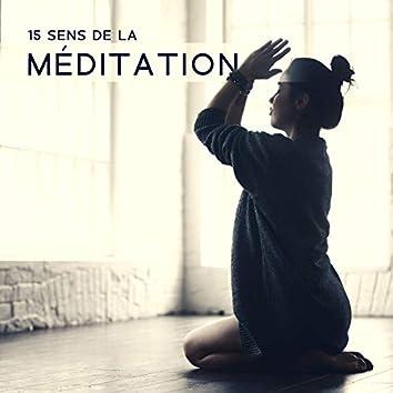 15 Sens de la méditation: Musique de pleine conscience