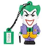 Tribe - Chiavetta USB 16 GB Joker - Memoria Flash Drive 2.0, Personaggio Originale DC Comics, Pennetta USB Compatibile con Windows, Linux e Mac