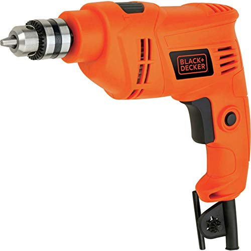BLACK+DECKER 450 W Hammer Drill Power Tool, BEH201-GB