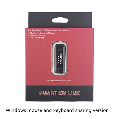 USB om lijn computer data bestand kopiëren en overdracht muis en toetsenbord delen apparaat datatransmissie lijn, Rood