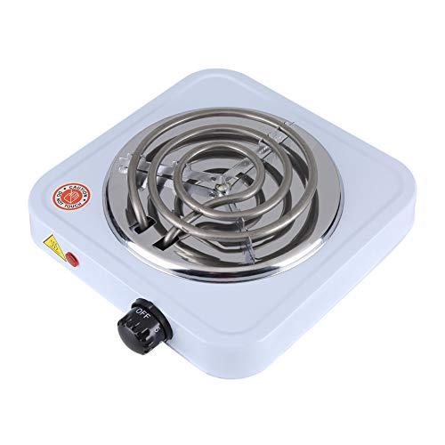 Estufa eléctrica, quemador eléctrico de café de 1000 W, quemador único eléctrico de cocina para cocinar, para calentar leche, agua, café o té