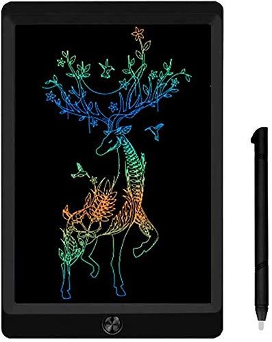 JOEAIS Tavolette per Scrittura LCD Colorato 8,5 Pollici Doodle Scrittoio elettronico Tavolo da Disegno Digitale Tavoletta Grafica Adatto per Bambini, casa, Scuola, Ufficio (Nero)
