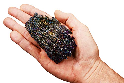 Rock Your Chakra Carborundum 4' 8-12 Oz Rough All Chakra Rocks and Minerals Healing Crystals and Stones Specimen Reiki