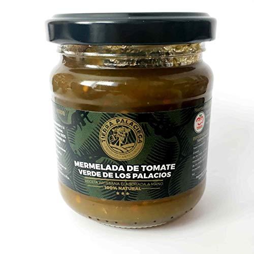 Mermelada de Tomate Verde de Los Palacios Arsesanal TIERRA PALACIEGA Tarro 220 g [Pack 2 x 220 g]
