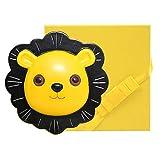 Caja de Dientes para Niños, Caja Guardar Dientes Leche,para niño niña nacimiento bautismo regalo recuerdo (pelo, cordón umbilical, juego de dientes de leche) amarillo