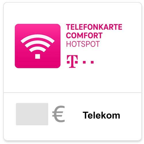 Telefonkarte Comfort Hotspot (Config) - für Deutschland - Gutschein per E-Mail