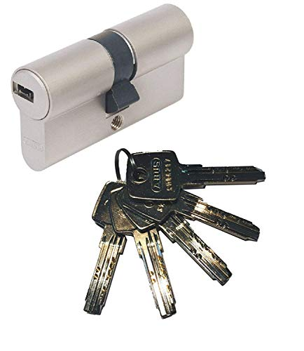Abus EC550 - Bombín cilíndrico de doble embrague (30 x 40 mm, incluy