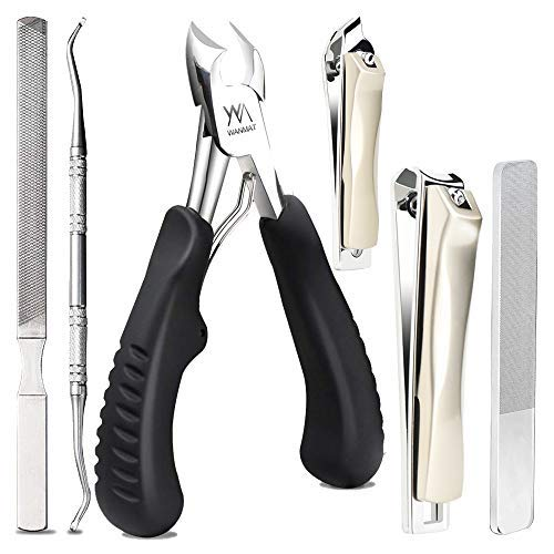 Toenail Clippers, Upgraded Toe Nail Clippers for Men, Professional...