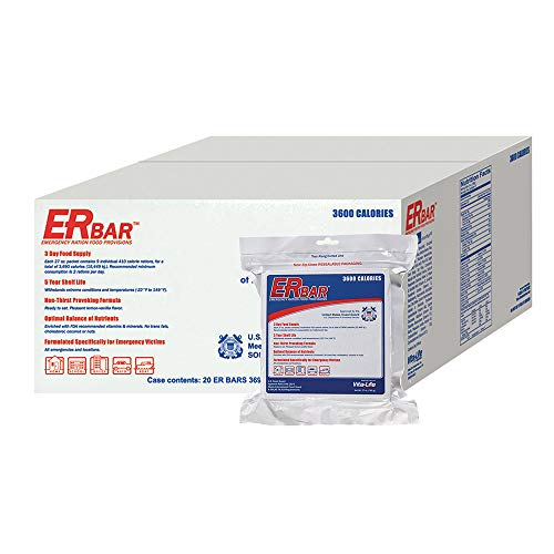 ER Emergency Ration 3600 Calorie Food Bar